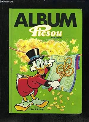 ALBUM PICSOU DU N° 172 AU N° 175.: WALT DIISNEY.