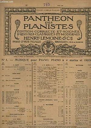 OEUVRES POUR PIANO N° 783 : SONATE EN UT MAJEUR - A 4 MAINS.- OP.67.: DUSSEK J. L.