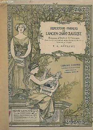 LE CHANT CLASSIQUE - BERCEUSE DE LA 2° PARTIE DE L'ORATORIO DE NOEL - PIANO/CHANT.: ...