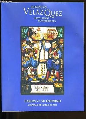 CATALOGUE DE LIVRES. SUBASTAS VELAZQUEZ. ARTE LIBROS ANTIGUEDADES.: COLLECTIF.