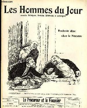 LES HOMMES DU JOUR N° 156. LE PROCUREUR ET LE FINANCIER.: Texte de FLAX, Dessins POULBOT.