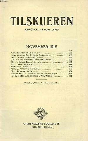 TILSKUEREN, NOV. 1918 (INDHOLD: Chr. Reventlow: Til: COLLECTIF