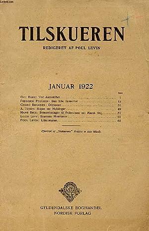 TILSKUEREN, JAN. 1922 (INDHOLD: Ove Rode: Ved: COLLECTIF