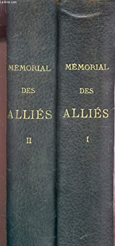 MEMORIAL DES ALLIES - 1914-1918 / EN: COLLECTIF