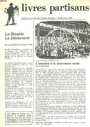 LIVRES PARTISANS, BULLETIN DES EDITIONS FRANCOIS MASPERO,: COLLECTIF
