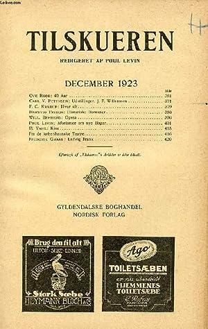 TILSKUEREN, DEC. 1923 (INDHOLD: Ove Rode: 40: COLLECTIF