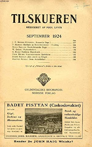 TILSKUEREN, SEPT. 1924 (INDHOLD: J. O. Bøving-Petersen: COLLECTIF