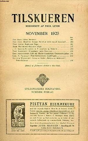 TILSKUEREN, NOV. 1925 (Ove Rode: Klaus Berntsen.: COLLECTIF