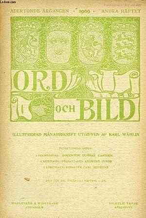 ORD OCH BILD, ADERTONDE ÅRGÅNGEN, 1909, ANDRA: COLLECTIF
