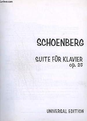 SUITE FÜR KLAVIER - OP.25 - PRÄLUDIUM: SCHOENBERG