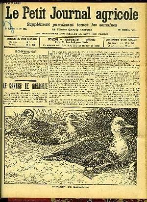LE PETIT JOURNAL AGRICOLE N° 930 - Le canard de Barbarie (Luc-Herbert).: COLLECTIF