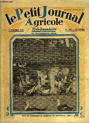 LE PETIT JOURNAL AGRICOLE N° 1798 -: COLLECTIF