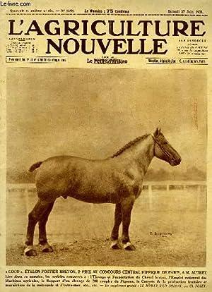 L'AGRICULTURE NOUVELLE N° 1589: COLLECTIF