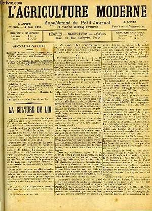 L'AGRICULTURE MODERNE N° 283 - Malpeaux: La culture du lin.: COLLECTIF