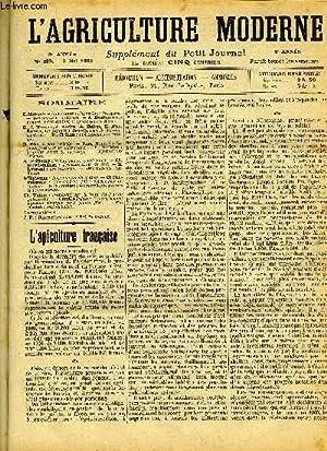 L'AGRICULTURE MODERNE N° 383 - E.Monestier de Lonnes : L: COLLECTIF