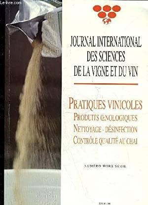 JOURNAL INTERNATIONAL DES SCIENCES DE LA VIGNE ET DU VIN