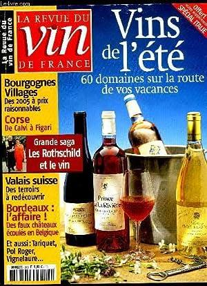 REVUE DU VIN DE FRANCE N° 503: COLLECTIF