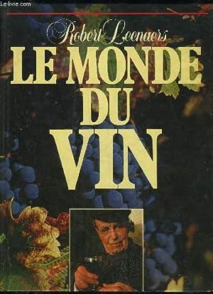 LE MONDE DU VIN: LEENAERS ROBERT