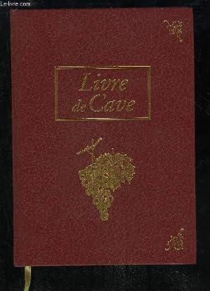 LIVRE DE CAVE: COLLECTIF