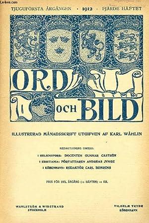 ORD OCH BILD, TJUGUFÖRSTA ÅRGÅNGEN, 1912, FJÄRDE: COLLECTIF