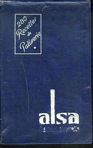"""LES BONNES RECETTES """"ALSA"""". TOME PREMIER : LES PATISSERIES.: COLLECTIF"""