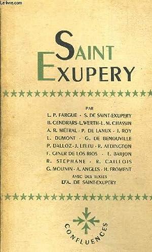 CONFLUENCES N°12-14 / SAINT EXUPERY / 7EME ANNEE - L.P FARGUE - S. DE SAINT EXUPERY -...