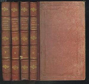 ABREGE DE L'HISTOIRE ROMAINE DE ROLLIN. TOMES 2 à 5. (MANQUE LE TOME 1).: M. L'ABBE ...
