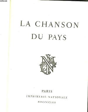 LA CHANSON DU PAYS: COLLECTIF