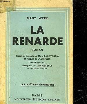 LA RENARDE: WEBB MARY