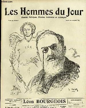 LES HOMMES DU JOUR N° 219. LEON BOURGEOIS.: Texte de PEGAN, Dessins RAIETER.