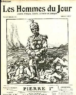 LES HOMMES DU JOUR N° 249. PIERRE Ier.: Texte de G. REUILLARD , Dessin de G. RAIETER.