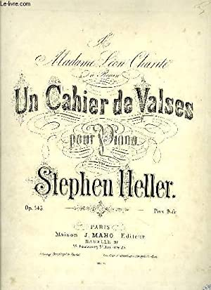 UN CAHIER DE VALSES: HELLER Stephen