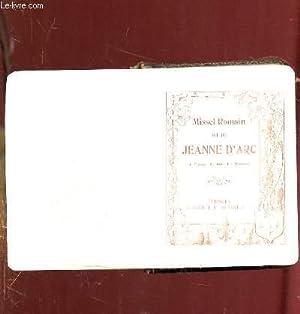 MISSEL ROMAIN DIT DE JEANNE D ARC.: COLLECTIF.