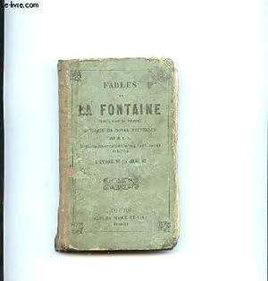 FABLES DE LA FONTAINE. EDITION REVUE ET CORRIGEE.: LA FONTAINE.