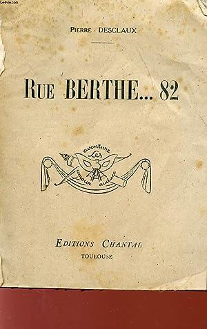 RUEE BERTHE.82 - COLLECTION LES 3 MASQUES : AVENTURE AMOUR AUDACE.: DESCLAUX PIERRE