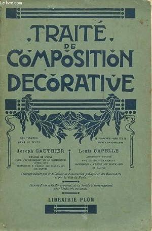 TRAITE DE COMPOSITION DECORATIVE.: GAUTHIER JOSEPH /