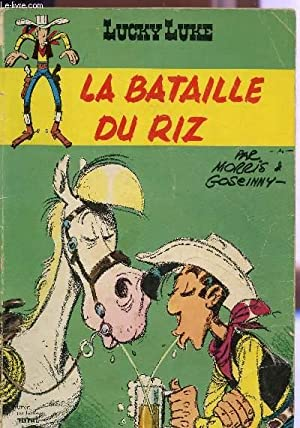 LA BATAILLE DU RIZ - COLLECTION LUCKY LUKE.: MORIS ET GOSEINNY