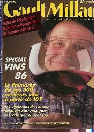 MAGAZINE GAULT MILLAU - N°209 - SEPT 1986/ SPECIAL VINS 86 - LE PALMARES DE NOS 300 ...