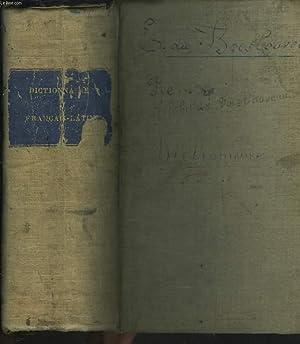 DICTIONNAIRE FRANCAIS-LATIN tiré des auteurs classiques latins pour la langue commune - des ...