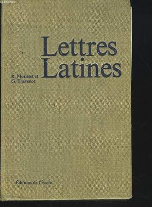 LETTRES LATINES: R. MORISSET, G. THEVENOT
