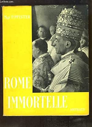 Pages de Rome Immortelle: Mgr PFISTER P.