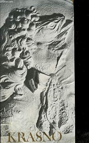 Krasno. Oeuvre graphique, Oeuvre en, papier. Le Livrobjet. Exposition du 13 octobre au 6 novembre ...