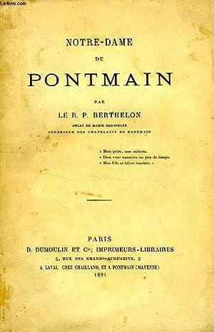 NOTRE-DAME DE PONTMAIN: BERTHELON R. P.