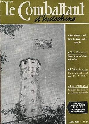 COMBATTANT D'INDOCHINE - N°34 - MARS 1955: COLLECTIF