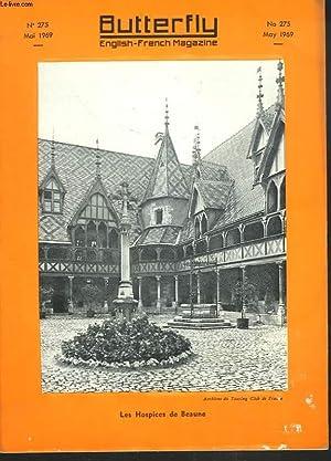 BUTTERFLY, ENGLISH-FRENCH MAGAZINE, N°275, MAI 1969. LA LIGNE VICTORIA / AU GARAGE / ...