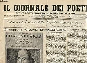 IL GIORNALE DEI POETI, ANNO XI, N° 10-11-12, OTT.-DIC. 1964, ORGANO DELL'ASSOCIAZIONE ...