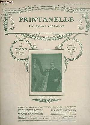 PRINTANELLE + VALSE - PIANO - N°80.: VERDALLE GABRIEL / SCHUBERT FRANZ