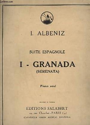 GRANADA - N°1 - SUITE ESPAGNOLE - PIANO SEUL.: ALBENIZ I.