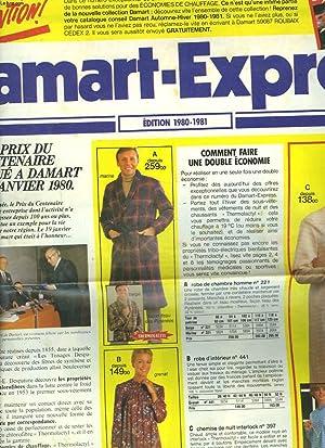 DAMART-EXPRESS. EDITION 1980-1981.: COLLECTIF