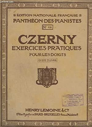 EXERCICES PRATIQUES POUR LES DOIGTS - OP.802 - 2° LIVRE - N°930.: CZERNY